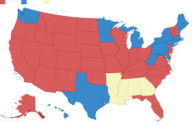 map us colleges 50 years of electoral college maps how the u s turned and