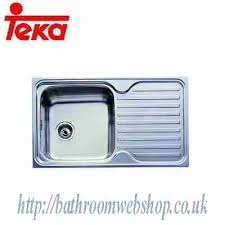 Teka Kitchen Sink Steel Kitchen Sinks Inset Teka Classic 86 1b 1d Inset Kitchen
