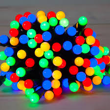 noma 50 fit forget multi coloured berry lights battery