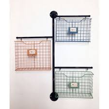 wilco home decor wilco home store it metal 3 basket wall file organizer products