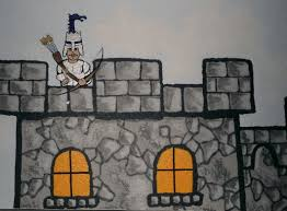 knight in castle in boys bedroom mural houseart custom painting brian schmidt december 8 2016 murals kids rooms