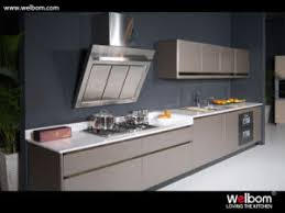 china modern simple lacquer kitchen cabinets customized kitchen