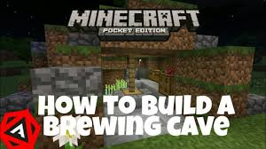 how to build a medival brewing room minecraft pocket edition 1 1