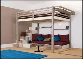 Full Size Bunk Bed Mattress Sale by Queen Bed Loft Frame 1000 Ideas About Queen Loft Beds On Pinterest