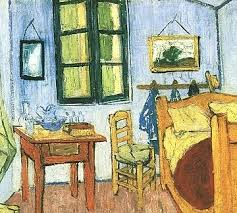 vincent van gogh bedroom van gogh s bedroom at arles aesthetic realism foundation