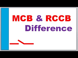 mcb u0026 rccb circuit breaker difference u0026 connections youtube