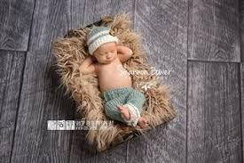 baby boy photo props and ivory newborn photography prop with matching hat