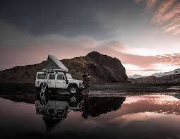 land rover iceland roof tent tours where am i allowed to camp ísafold travel