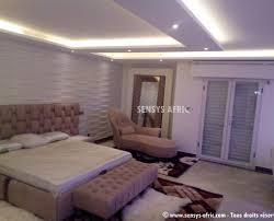 plafond chambre a coucher décoration faux plafond salon et chambre dakar sénégal sensys afric