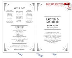 wedding program fan sticks 0 24 99 page 5