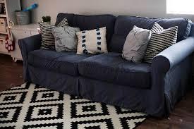 ektorp sleeper sofa slipcover living room slipcovered sleeper sofa slipcover slipcovers for