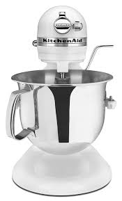 Kitchen Aide Mixer by Amazon Com Kitchenaid Professional 6000 Hd Ksm6573cwh Stand Mixer