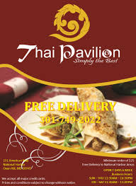 thai pavillion national harbor dining national harbor