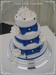 wedding cake royal blue royal blue bow wedding cake heidi flickr