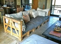 canapé lit palette canape lit palette un canapac de jardin en bois construire