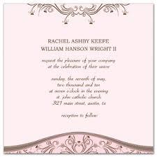 Wedding Invitations Examples Free Wedding Invitation Samples Orionjurinform Com