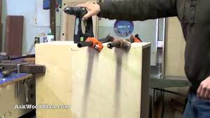 Screws For Kitchen Cabinets by How To Make Plywood Boxes U2022 23 Of 64 U2022 Woodworking Project For