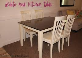 how to stain and paint your kitchen table twist me pretty