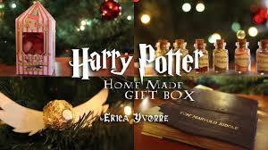 harry potter homemade gift box diy showcase youtube