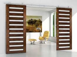 Sliding Wooden Doors Interior Modern Sliding Barn Door Hardware For Sliding Wood