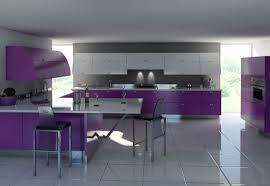 purple cabinets kitchen modern purple cabinets gray wall white floors kitchen smart home