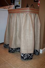Skirt For Pedestal Sink by Burlap Laundry Tub Skirt We Have An Ugly Wash Tub In Our Laundry