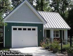 rustic rv garage with workshop 9822sw architectural designs