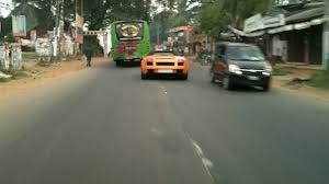lexus cars in sri lanka a lamborghini gallardo seen between palakkad and mannarkkad youtube