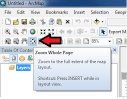 layout view zoom arcgis 10 0 arcmap layout graphics geographic information