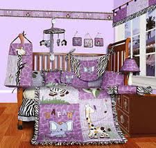 Teal And Purple Crib Bedding Nursery Bedding Sets Ebay