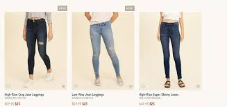 Hollister Skinny Jeans Mens Hollister All Guys Or Girls Jeans 25living Rich With Coupons