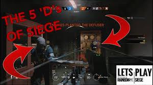 the 5 u0027d u0027s of siege best siege moments 8 rainbow six siege
