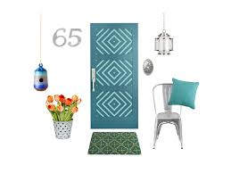 20 stylish summer wreaths for your front door hgtv u0027s decorating