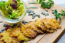 Esszimmer Essen Vegan Kürbis Kartoffelpuffer Essen Lieben