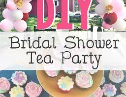 bridal shower tea party shabby chich tea party bridal wedding shower diy bridal shower