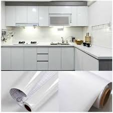 how to touch up white gloss kitchen cabinets new diy kitchen worktop gloss white vinyl cover self adhesive sticky back wrap