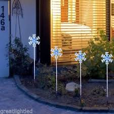 Led Christmas Pathway Lights Christmas Pathway Lights Ebay