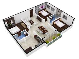 3 Bhk Home Design by Salarpuria Magnus In Shaikpet Hyderabad Price Location Map