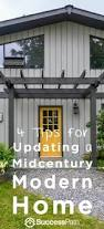 4 tips for updating a mid century modern home