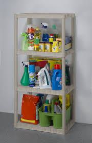Plastic Shelving Unit by Keter 14inch 4 Tier Shelf Unit