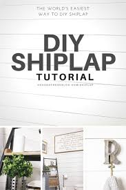 What Does Powder Room Mean Diy Shiplap Tutorial