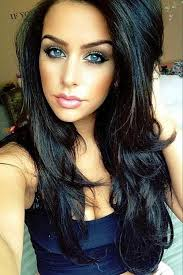 brown hair and blue eyes may be going for this with some subtle lows