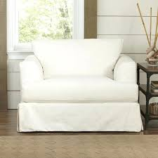 slipcover chair and a half slipcover chair and a half armchair white slipcover chair ikea