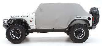 wrangler jeep 4 door amazon com smittybilt 1069 gray water resistant cab cover with