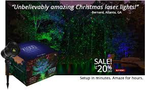 Christmas Lights Projector by Outdoor Christmas Decorations