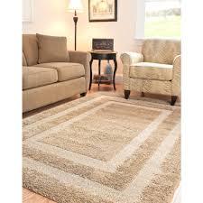 Living Room Rugs 10 X 12 Safavieh Florida Shag Beige 8 Ft X 10 Ft Area Rug Sg454 1313 8
