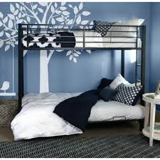 Bedroom Side View by Convert Bunk Bed Couch Beds Style Image Of Blue Idolza