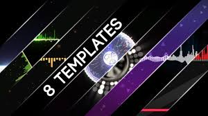 free after effects cs6 audio visualization templates youtube