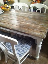 dining room refinishing wood dining table with white wooden