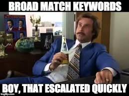 Meme Search Engine - 22 signs you work in ppc meme list intuitive digital